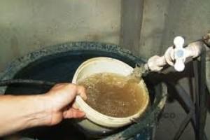 Nước bẩn tại Hà Nội