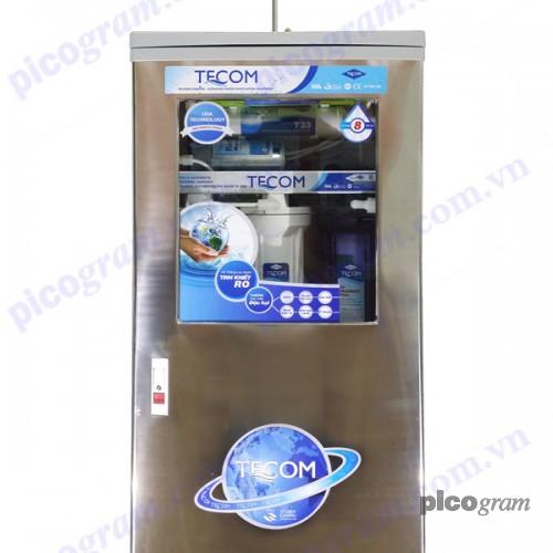 Máy lọc nước RO Tecom 08 cấp tủ inox