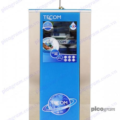 Máy lọc nước RO Tecom 08 cấp tủ cường lực