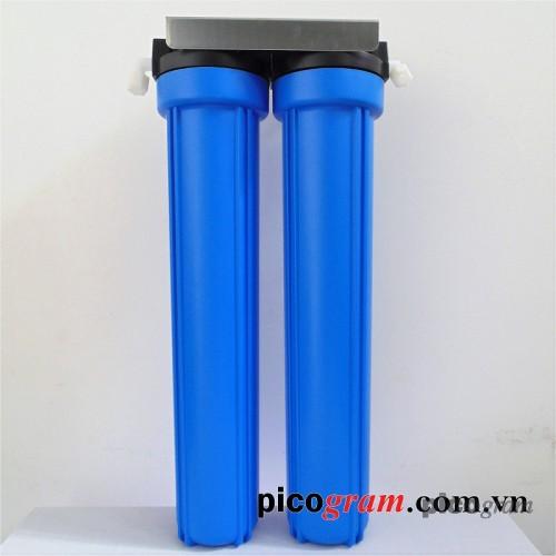 Bộ lọc nước sinh hoạt 2 bước 20in