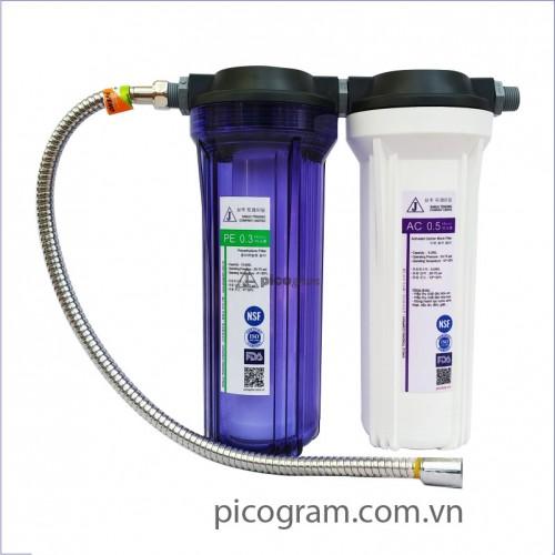 Bộ lọc nước sinh hoạt 2 bước